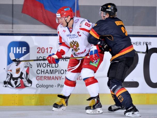 Alex Ovechkin Captains Russian National Team