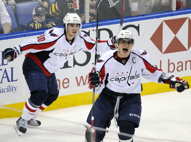d40c138501c Can The Capitals Win The Southeast Division  Alex Ovechkin celebrates