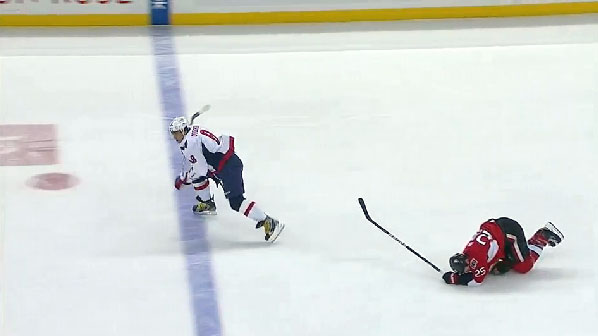 Chris Neil speared