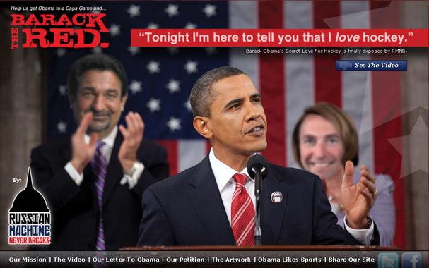 A Screenshot of Barack The Red