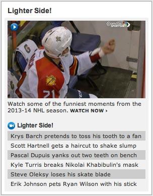No NHL.com, you're wrong.