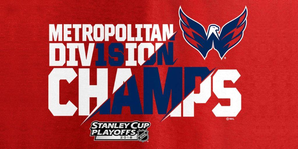 Washington Capitals Metropolitan Division Champions Gear