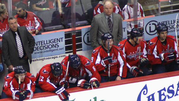 Bruce Boudreau and Friends Look In Horror as Caps Lose 6-3