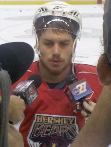 Chris Bourque: 'We've got a chance to clinch in front of our fans and its an exciting thing.' (Photos by Kyle M.)