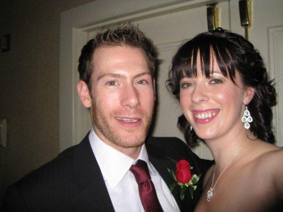 Emily with Brendan Morrison