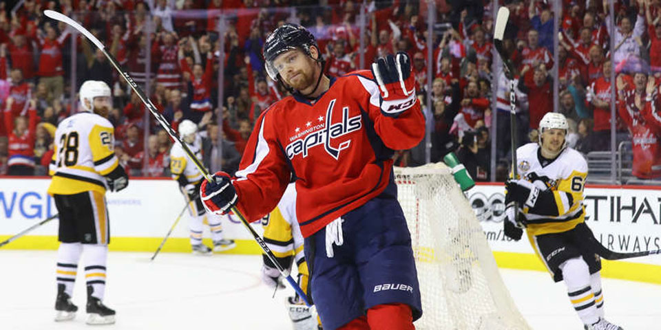 feb0517ca47 Washington Capitals re-sign Evgeny Kuznetsov to eight-year