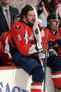 Alex Ovechkin Getting Back Into NHL Playing Shape. Photo by Mitchell Layton.