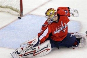 Will the Caps be able to overcome their PK woes in the playoffs? (AP Photo/Haraz N. Ghanbari)