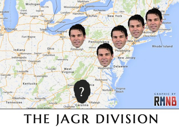 Yeah, Boston isn't in the division, but the gag is funnier this way.