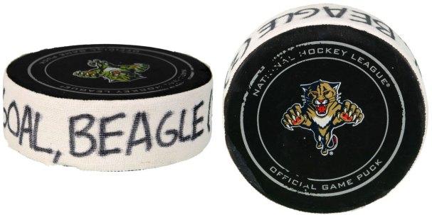 Jay Beagle Goal Puck