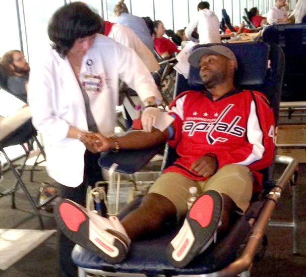 joel-ward-donates-blood