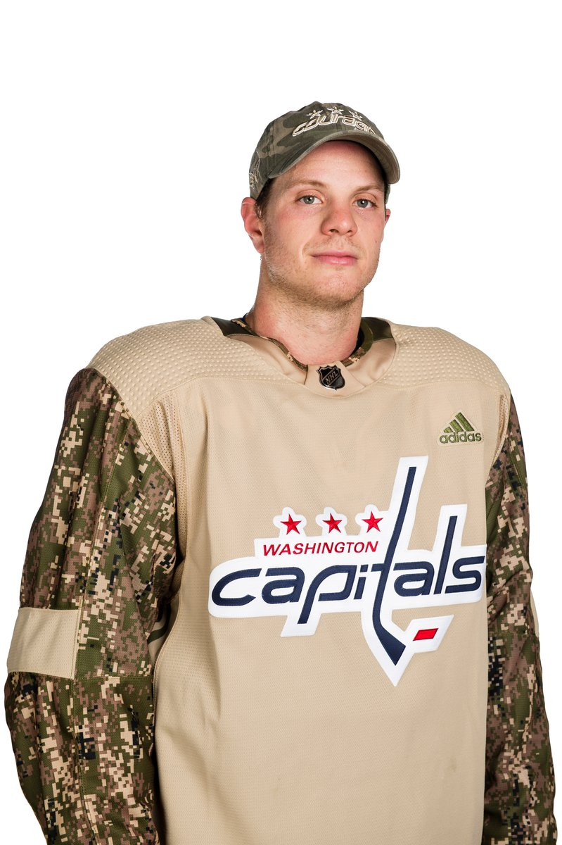Here's your first look at the Caps' Military Appreciation Night ...