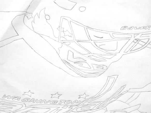 Kaitlyn's Semyon Varlamov Drawing