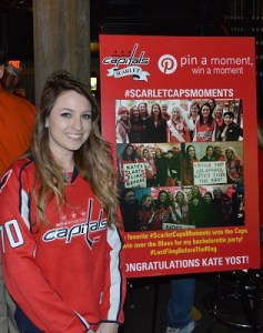 Kate wins Scarlett Caps competition.