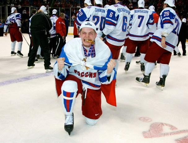 Evgeny Kuznetsov Gold Medal