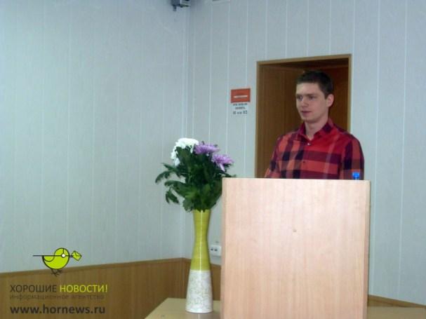 Evgeny Kuznetsov graduates from Ural State University