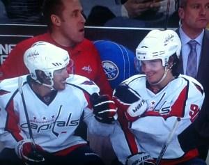 Teamwork. (Screencapture by @Caps_Grl)