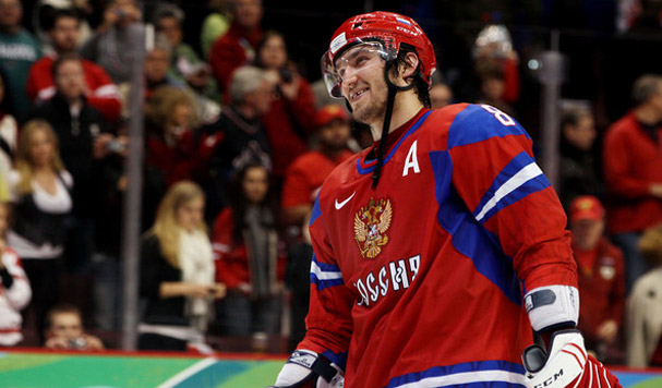 Alex Ovechkin in Win against The Czech Republic