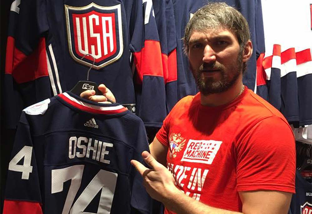 new arrival 20aed d560a Alex Ovechkin and Evgeny Kuznetsov turn trip to World Cup of ...