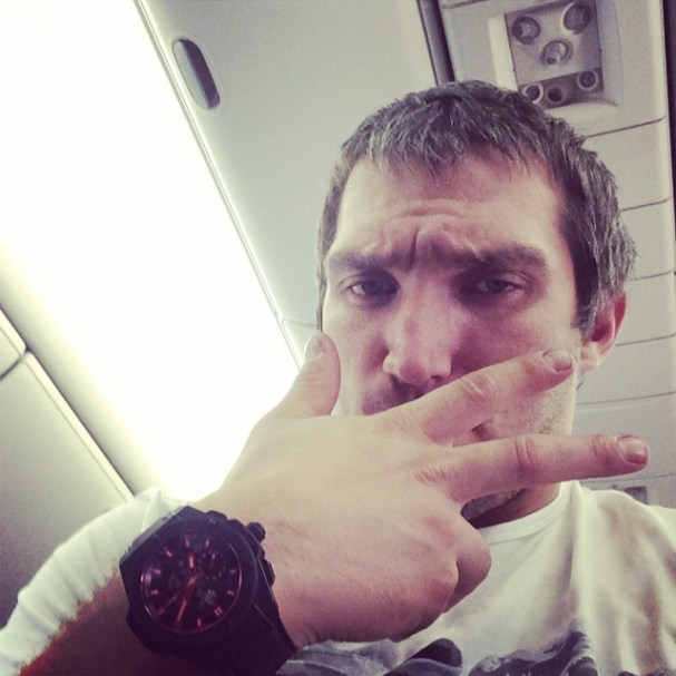 ovi-on-plane-returning-home