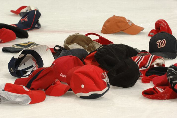 The Hats Fly For Ovechkins Hat Trick