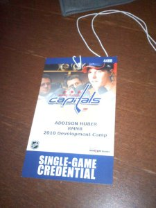 Yes, the impossible has happened: The Capitals have given us a credential.