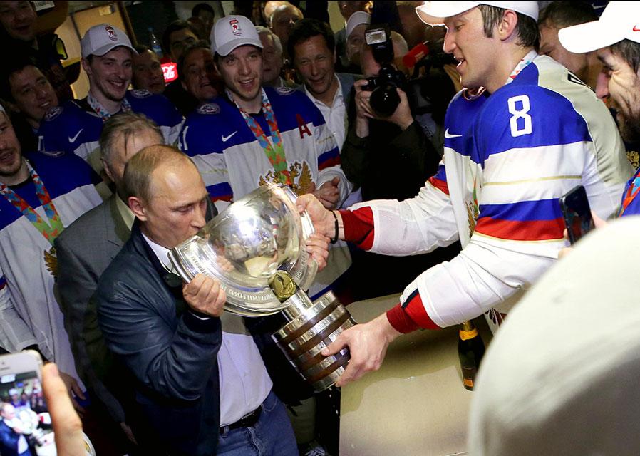 Alex Ovechkin announces via Instagram that the Putin Team website is live 9f7f4d0235ec