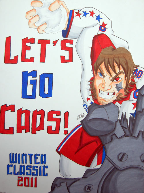 Rachel Cohen's Sign at the Winter Classic