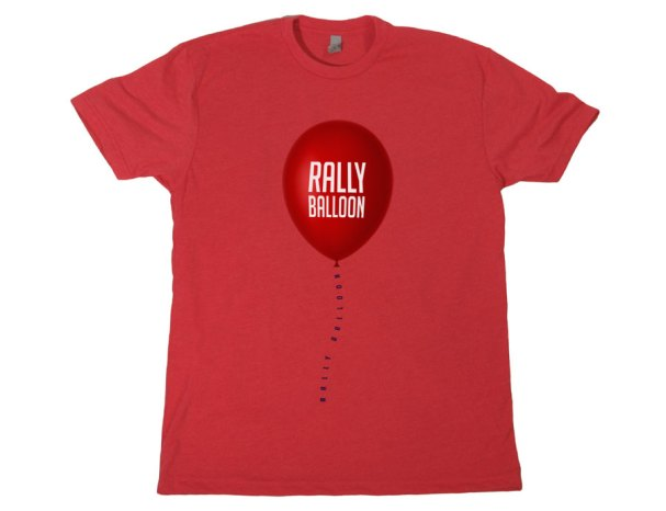 Capitals Rally Balloon