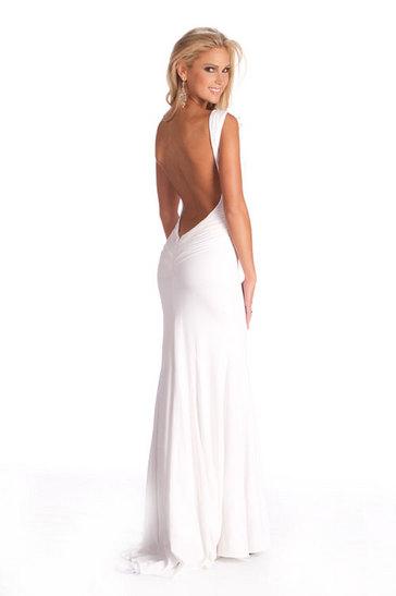 Her Evening Gown Shot