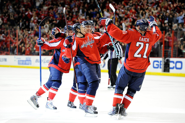 The Capitals Need Secondary Scoring Against the Montreal Canadiens if they Blanket Alex Ovechkin. Photo by Greg Fiume.