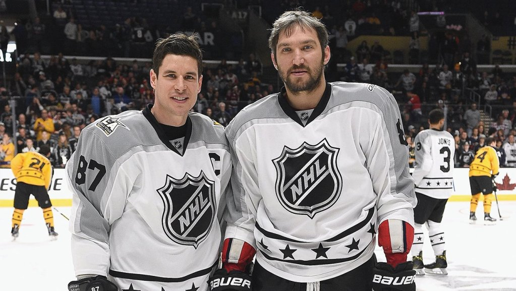 purchase cheap cf18e cae15 Alex Ovechkin and Sidney Crosby tally assists on each ...