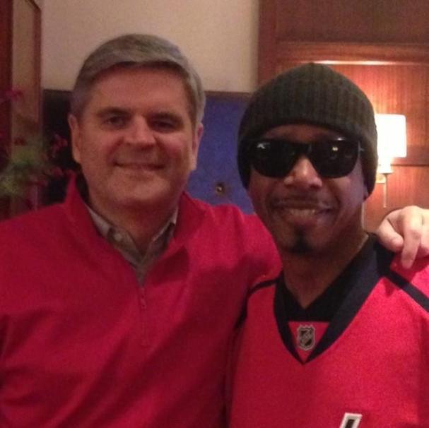 Steve Case and MC Hammer