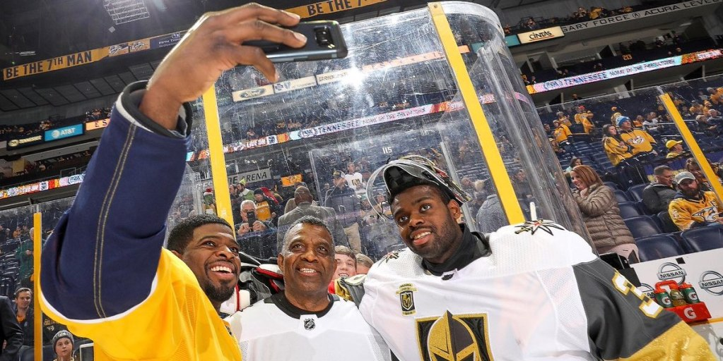 sports shoes 9391b 98004 Subban family takes selfie together before brothers PK and ...
