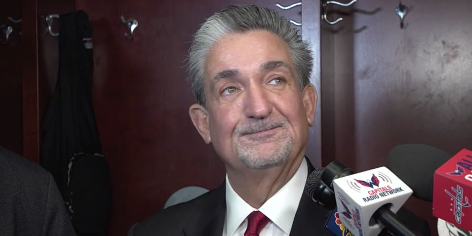 2f41b429c13 Opinion  Why Ted Leonsis should have commented on Barry Trotz s contract  situation