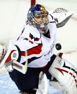 Varly's scintillating glove saves push the Habs to the brink. (Photo by Paul Chiasson) (Top: NHL.com miscue)