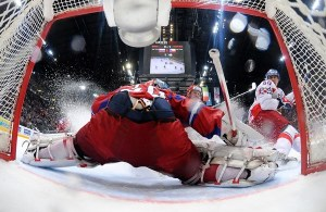 Semyon Varlamov played exceptionally well as the Russians falls to the Czechs 2-1.