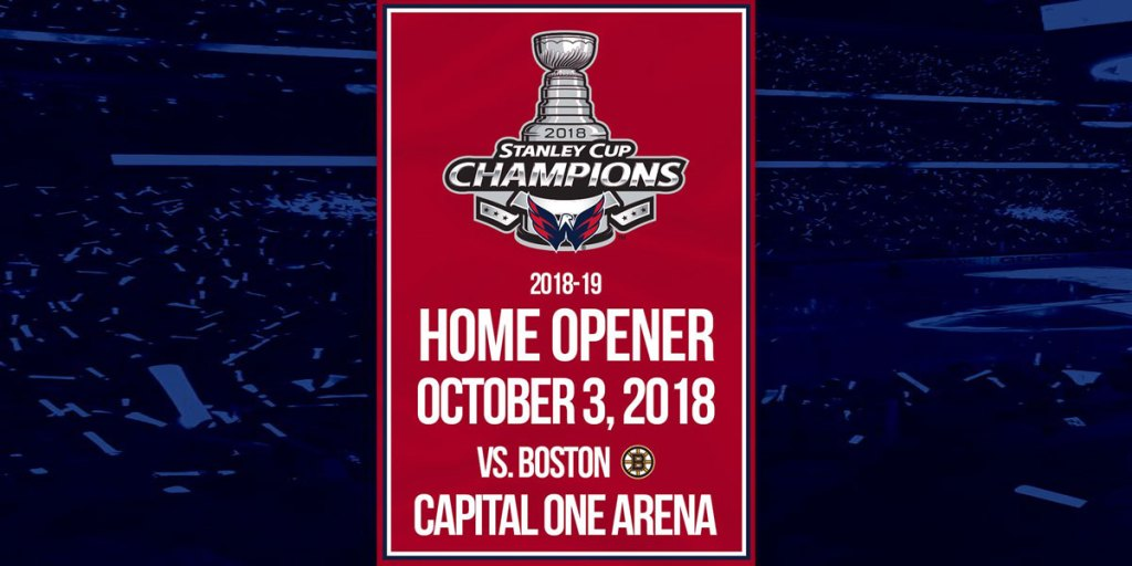 Capitals will hold banner raising October 3rd against the Boston Bruins 640e0346c10