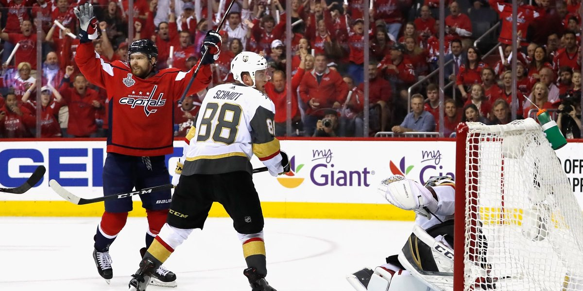 Caps on cusp of Cup after Washington takes 3-1 series lead in Stanley Cup Final