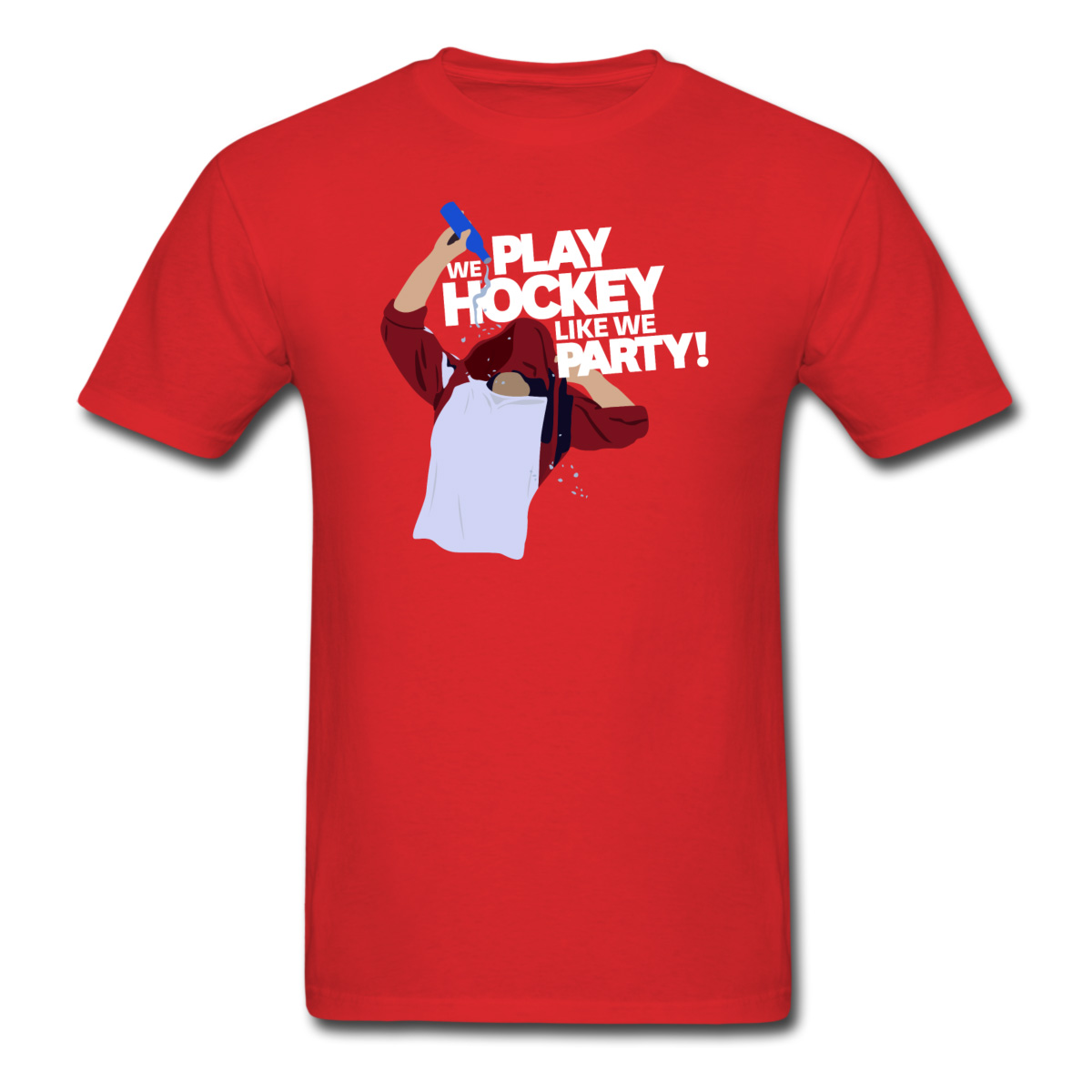 info for b7b93 8e0c2 New RMNB shirt: We play hockey like we party