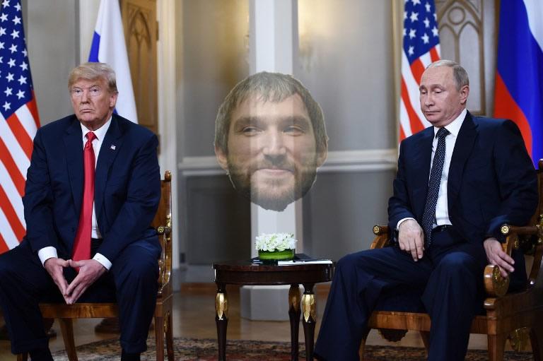 Putin-trump-ovechkin