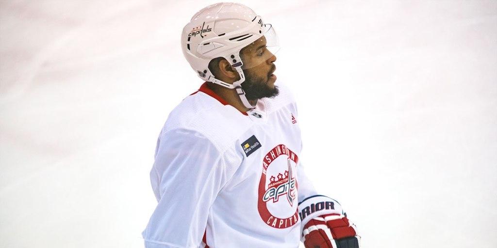 best website 4292b b0f1d Caps injury update: Kuznetsov in no-contact jersey, Oshie ...