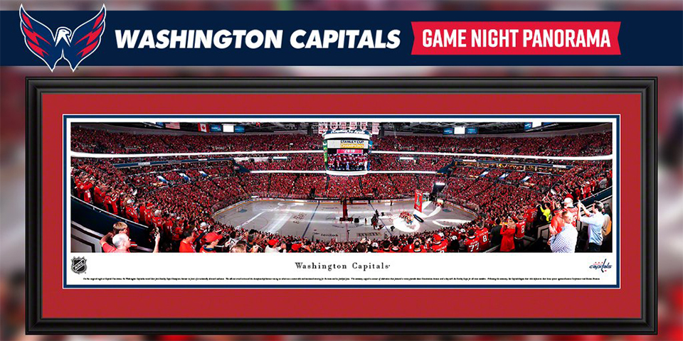 This panoramic photo of the Capitals  banner raising is the perfect  addition to your walls 03d33219a9a