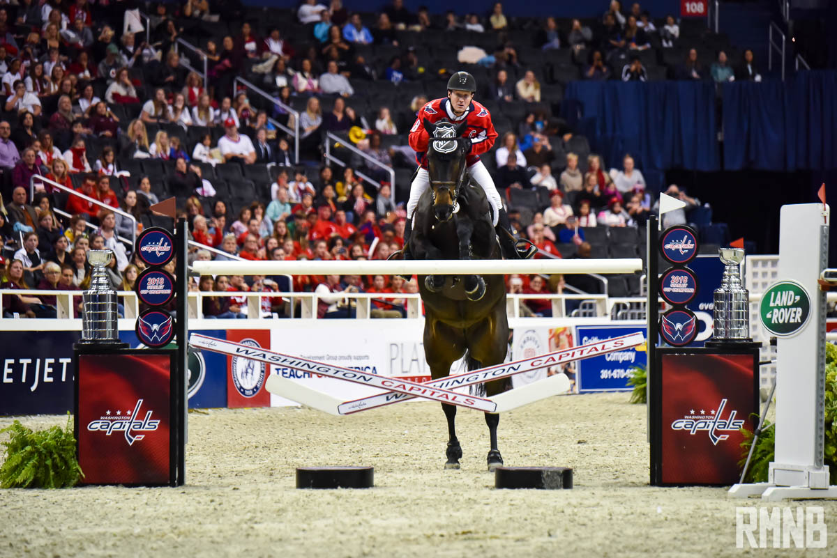 This year s International Horse Show was lit. One rider wore an Alex ... 2f1d043cd36