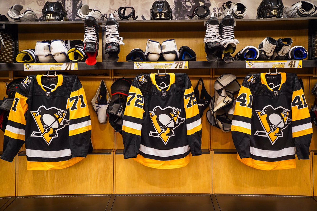 d2f2f1a45bd The Pittsburgh Penguins will wear special  Stronger Than Hate ...