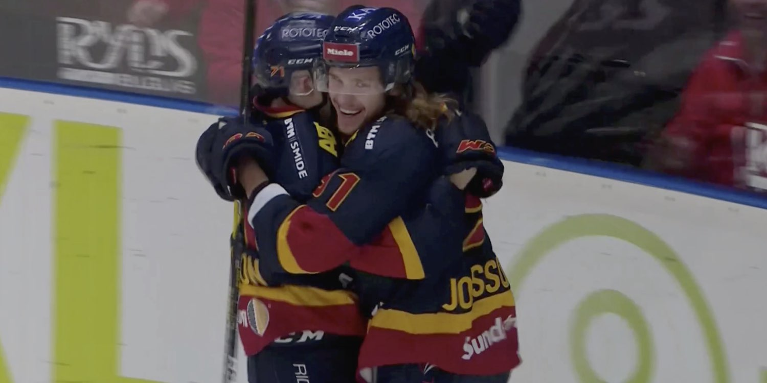 SHL: Axel Jonsson-Fjällby Has Assist In First Game Back In Sweden