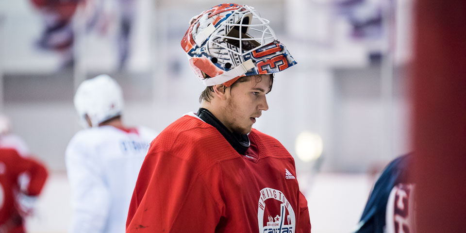 Ilya Samsonov Called Up To The Capitals With Braden Holtby Out Injured Rmnb