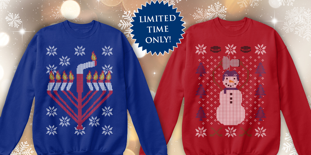 61b12917c63 Our Ugly Holiday Sweaters this year will make you the champion of your  office's holiday party
