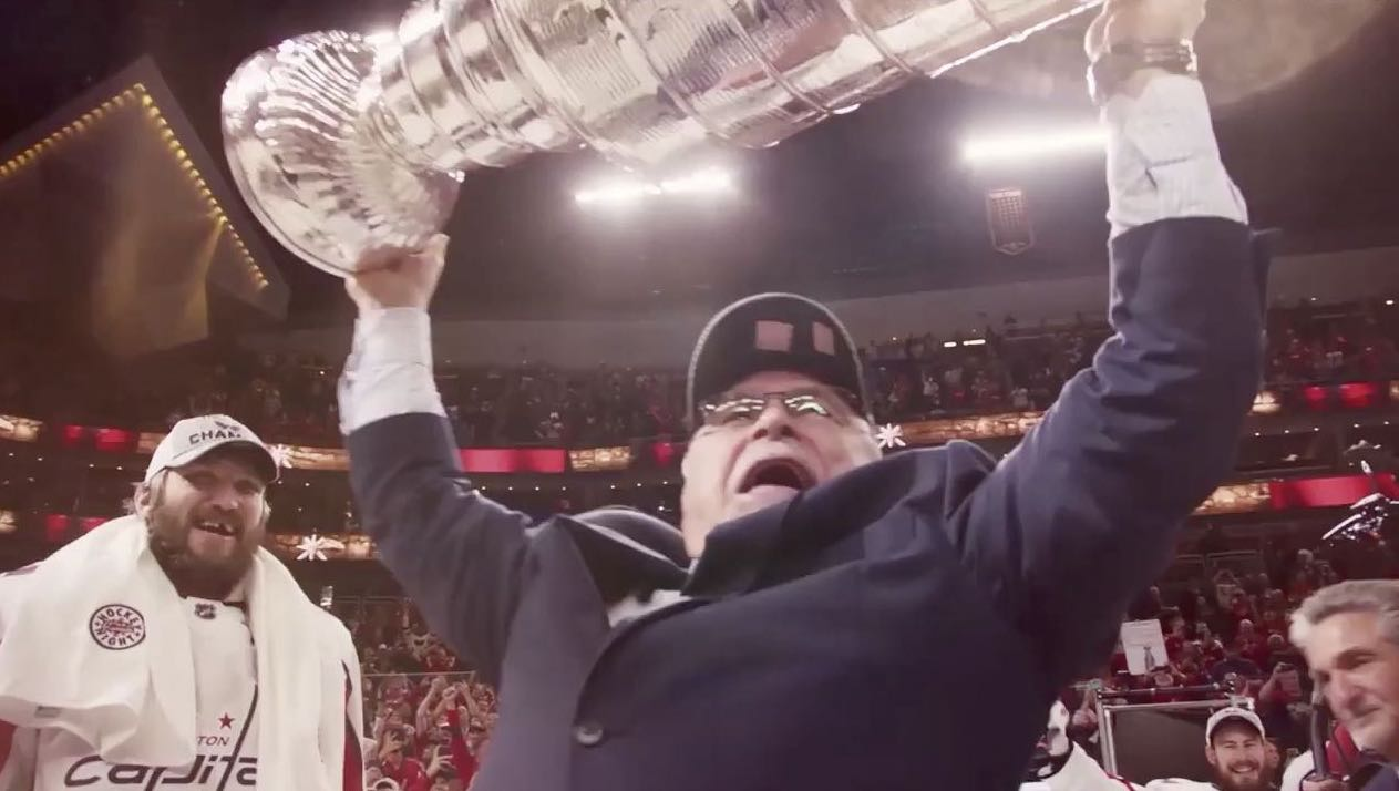 The Washington Capitals  tribute video for Barry Trotz 639dc5ed3430