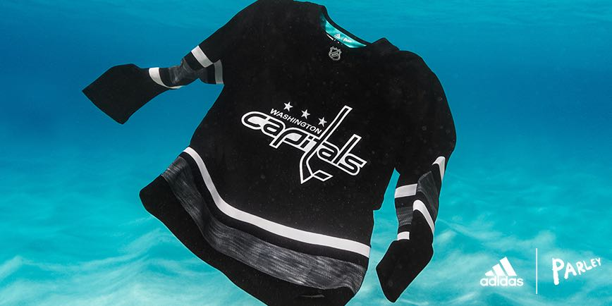 quality design 89e93 a4ce5 Parley authentic Capitals jerseys now available in the NHL Store
